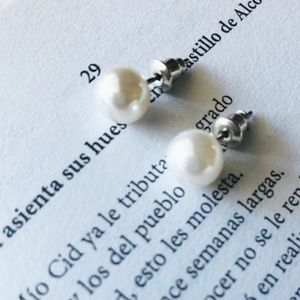 3/35 MALLORCA 10 MM DIAMETER PEARL EARRINGS